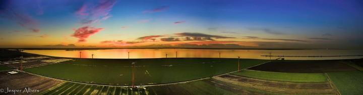 Panorama Flevopolder