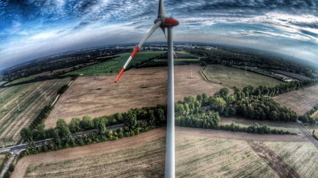 Wind Power near Berlin
