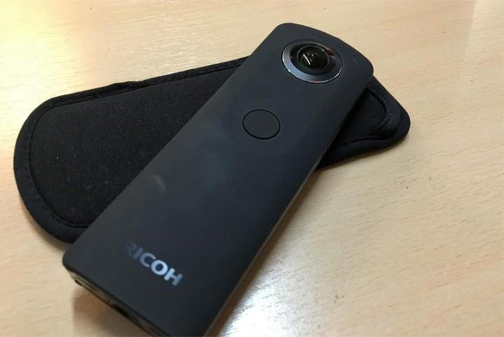 De Ricoh Theta S: een pocketformaat 360 graden camera