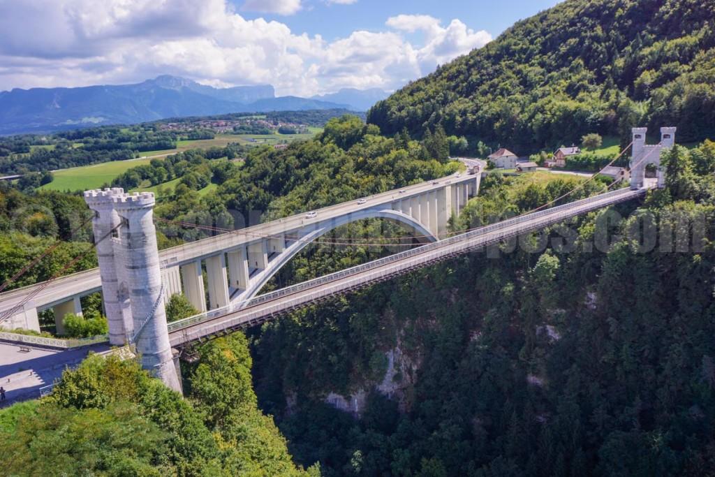 Pont de la Caille, Allonzier, haute-Savoie