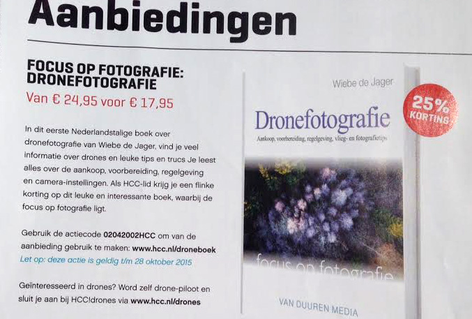 HCC aanbieding Dronefotografie in PC-Active