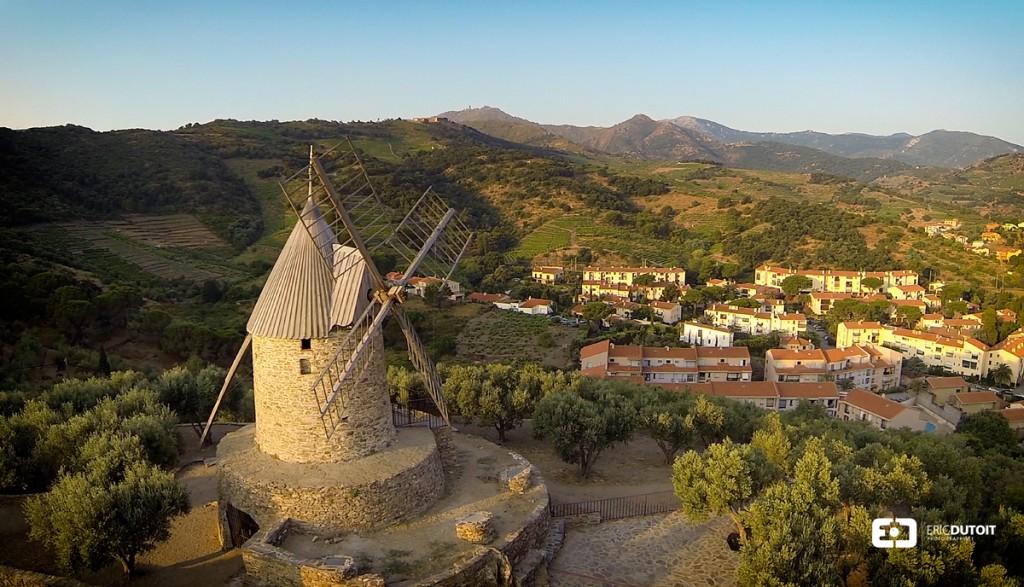Moulin de Collioure, Pyrénées orientales
