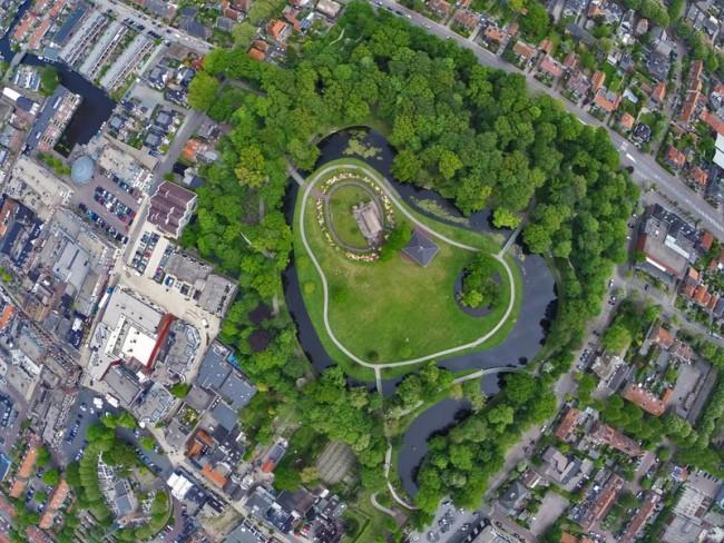 Een park in Sassenheim