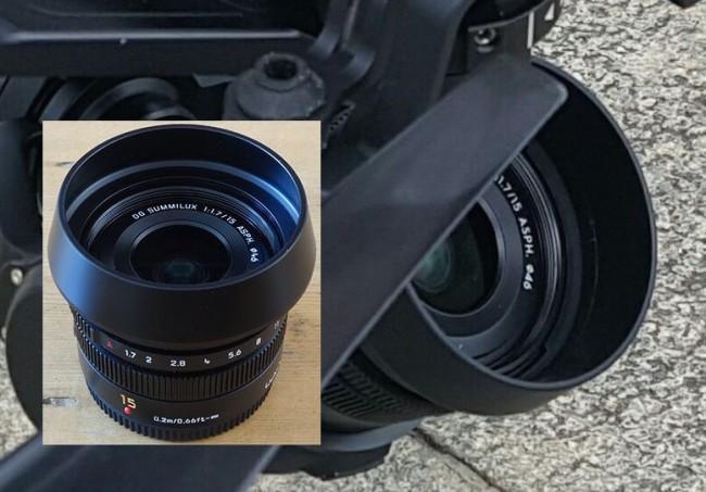 Leica lens DJI
