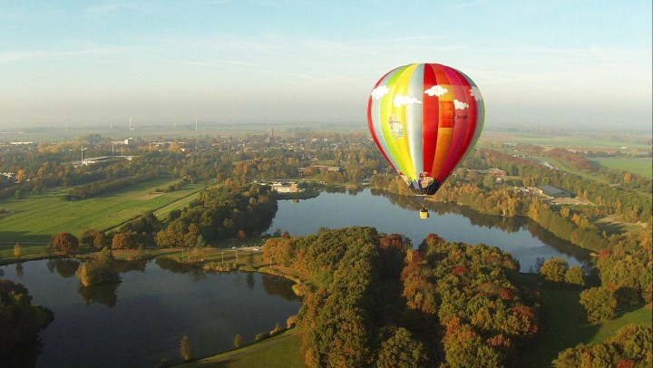 Luchtballon Waalwijk