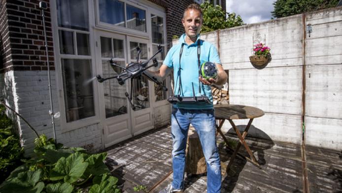 Dronefotograaf Wiebe de Jager